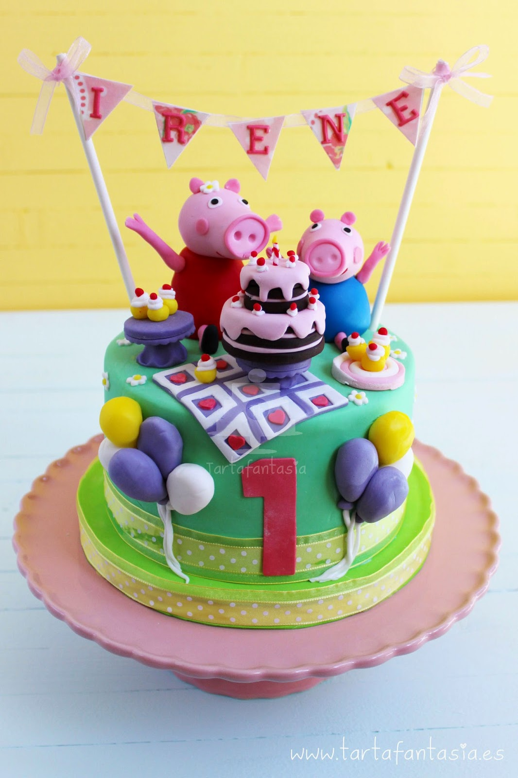 Tarta Peppa Pig