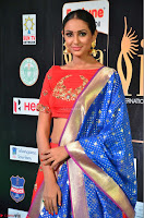 Priya Shree in Beautiful Blue Saree at IIFA Utsavam Awards 2017  Day 2    HD Exclusive Pics 21.JPG