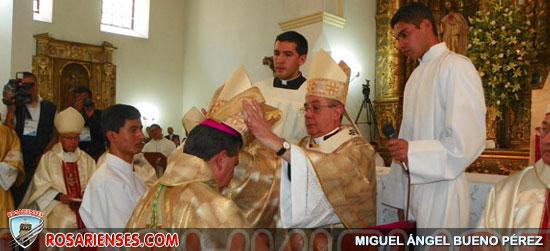 Se ordenó obispo de Montería, en Pamplona | Rosarienses, Villa del Rosario