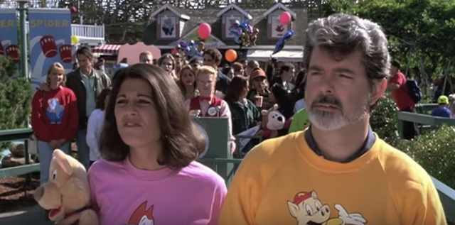 george lucas beverly hills cop 3 cameo