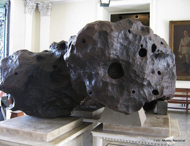 Meteorito Bendegó, Museu Nacional da Quinta da Boa Vista