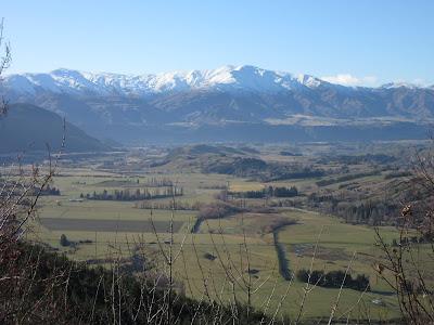 Vistas desde Coronet Peak, cerca de Queenstown, Nueva Zelanda