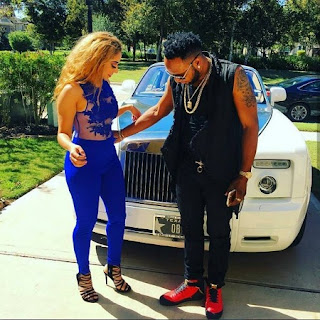 People Are Talking About This Pretty Young Lady Spotted With KCee (Photos)