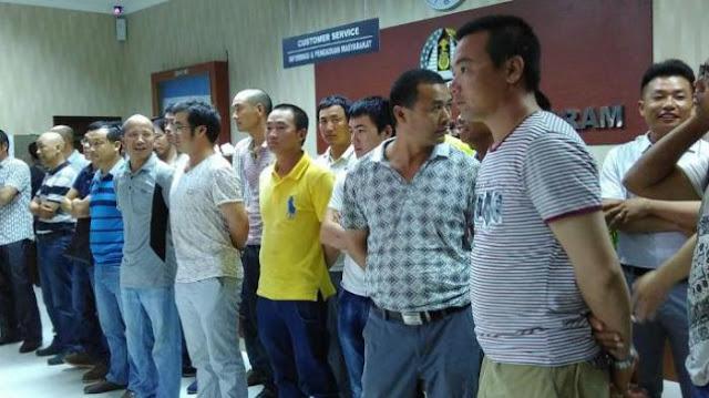 21.000 Tenaga Kerja Asal China di Indonesia Dengan Izin Kerja Hanya Enam Bulan ,