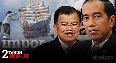 Dua Tahun Jokowi-JK, DPR: Menyedihkan, Semua Serba Impor