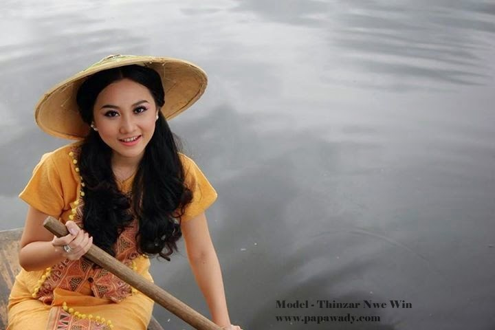 Thinzar Nwe Win - Beautiful Photos on the boat