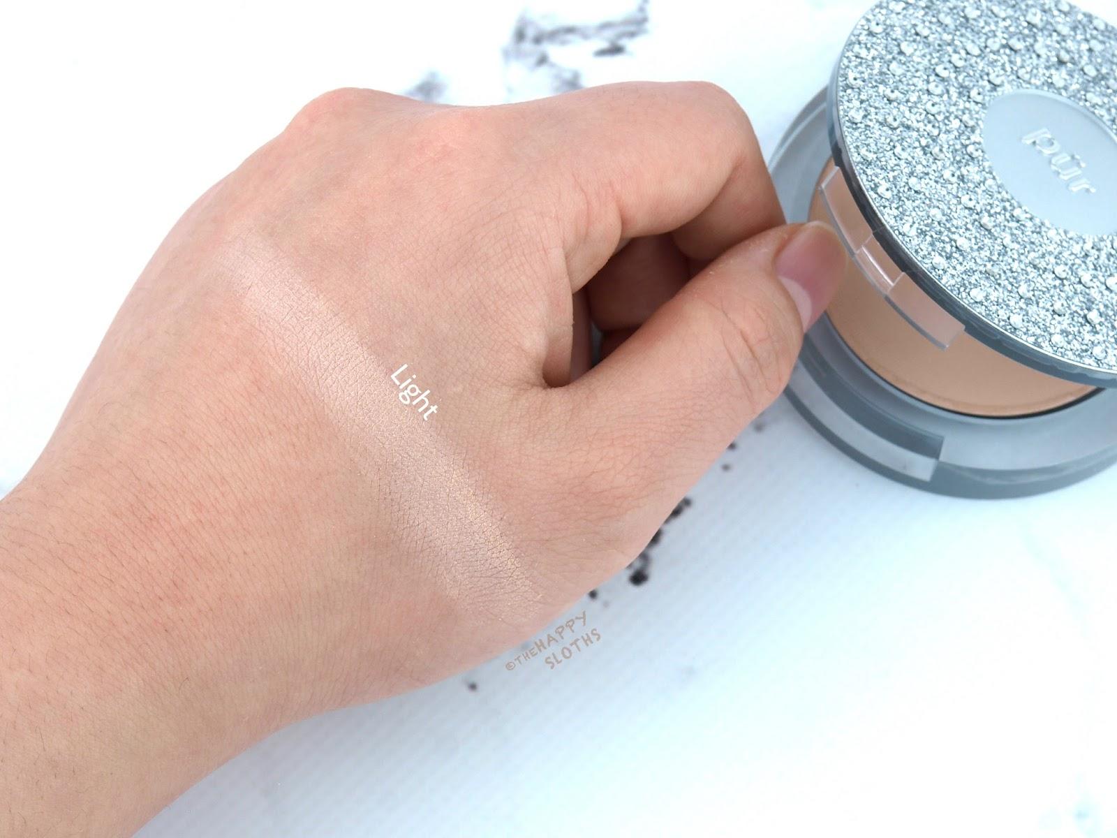 4-in-1 Pressed Mineral Powder Foundation SPF 15 by pür #14