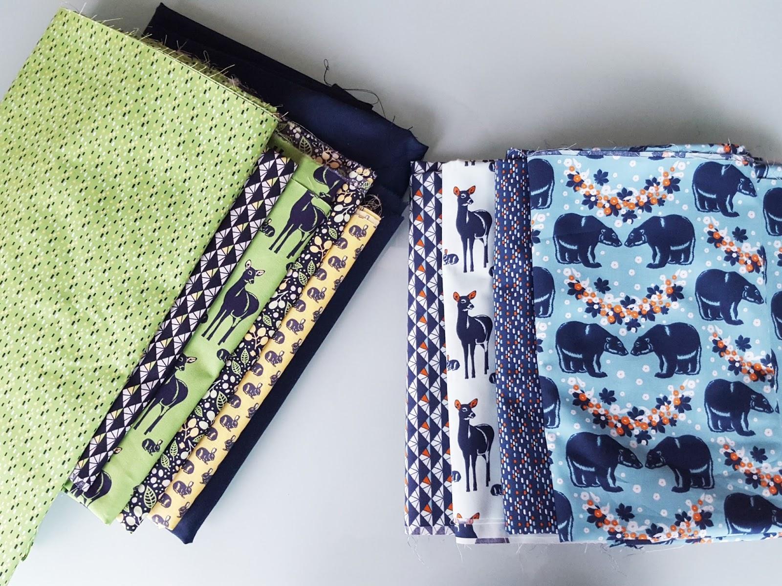 diy mon plaid en patchwork bambi et cie. Black Bedroom Furniture Sets. Home Design Ideas