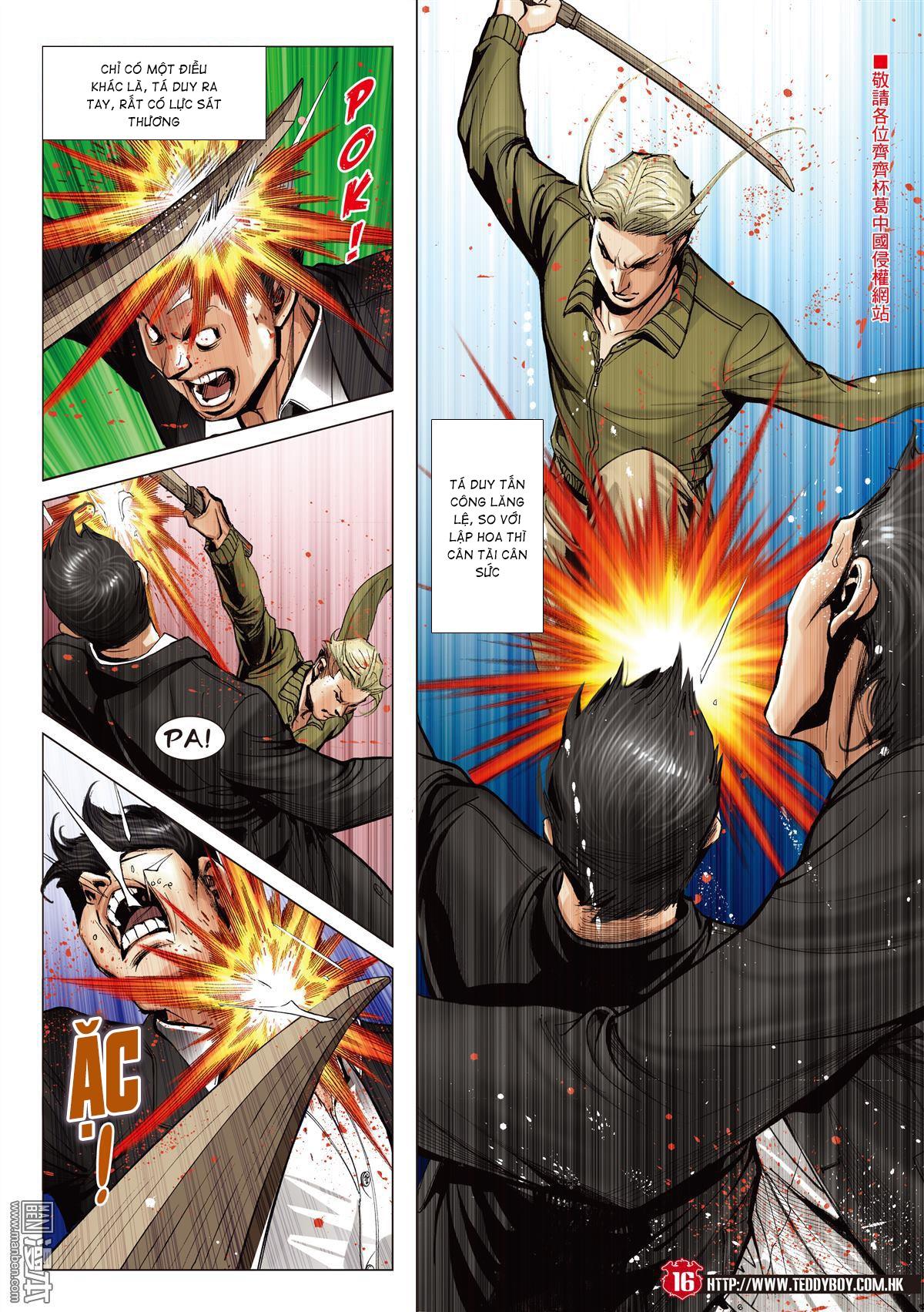 Người Trong Giang Hồ chapter 2067: ánh tỉ làm phản trang 14