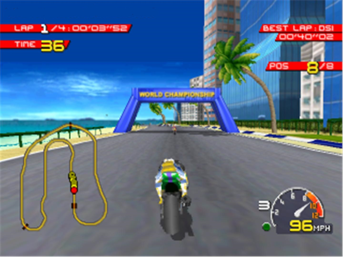 Moto Racer 1 PC Game play picture