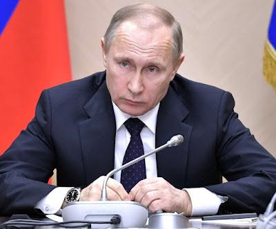 Vladimir Putin in Kremlin.