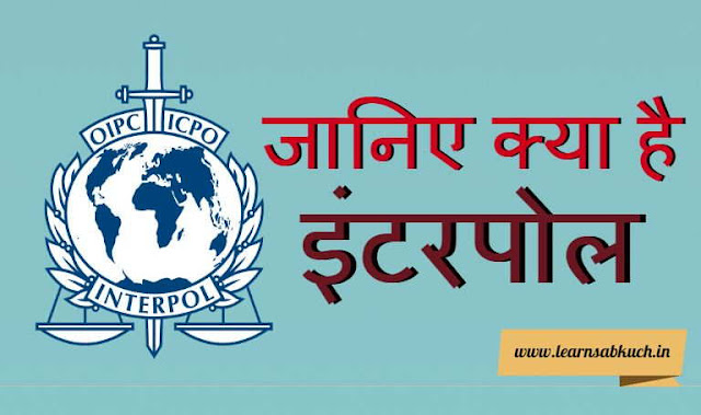 Know What is Interpol