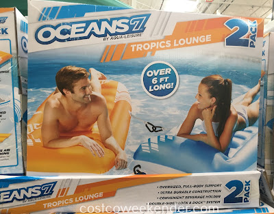 Relax in the pool this summer with the Aqua-Leiser Oceans 7 Tropics Lounge
