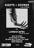 Concierto de Sights + Sounds y Landscapes en Fun House