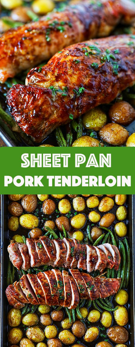 PORK TENDERLOIN RECIPE EASY SHEET PAN DINNER