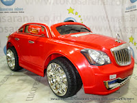 Pliko PK999N Maybach 2 Kursi 2XL Rechargeable-battery Operated Toy Car