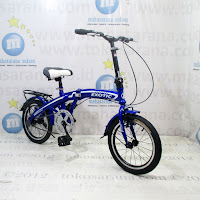 Sepeda Lipat Exotic ET16-2625TJ 16 Inci