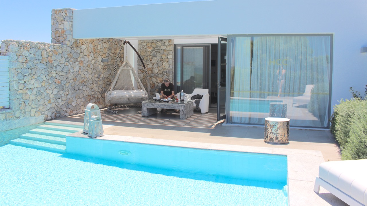 Diamond Deluxe Suite No. 1 mit Privatpool, Diamond Deluxe Hotel, Kos, Griechenland