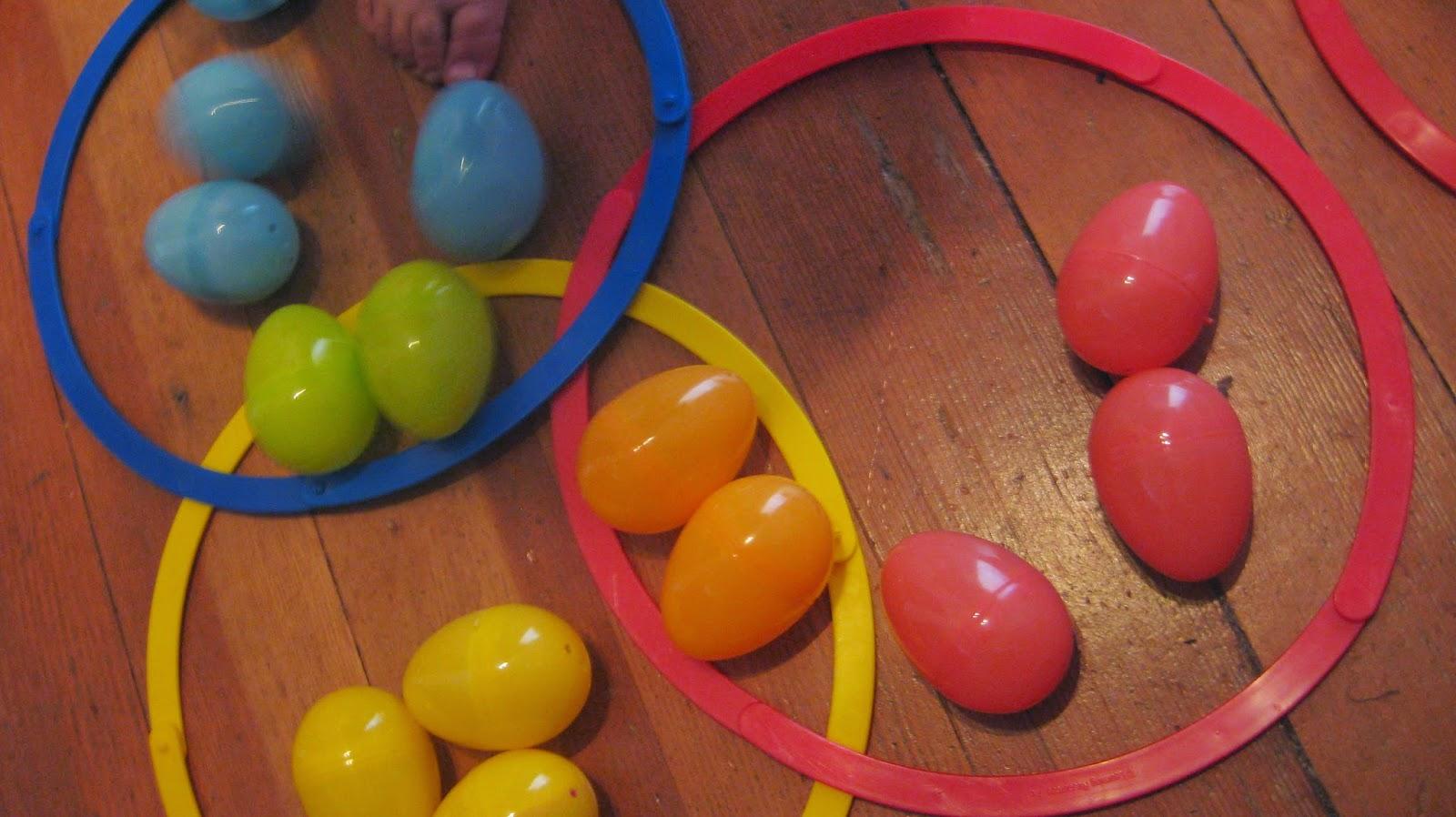 Easter Egg Preschool Math