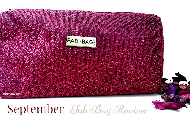 Fab Bag September 2015 Review