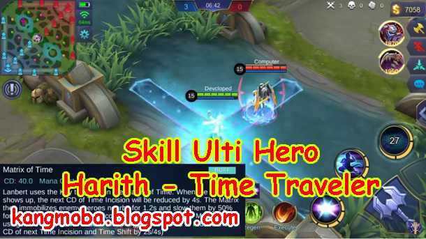 Tanggal Rilis Hero Harith - Time Traveler (Mage) di Server ORI | Mobile Legends