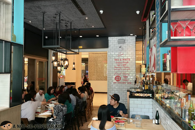 Interior of Fireside in BGC
