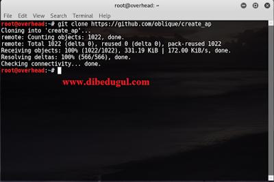 Cara Mudah Share Public WIFI Di Kali Linux