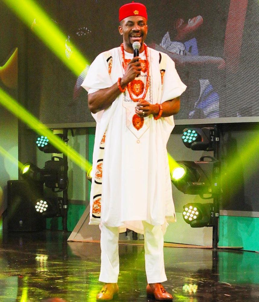 See all the outfits Big Brother Naija host Ebuka Obi-Uchendu wore at grand finale