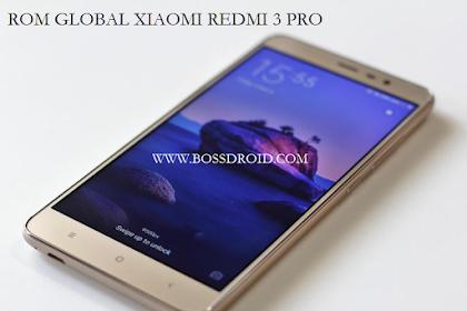 ROM Miui Global Xiaomi Redmi 3 Pro Bahasa Indonesia