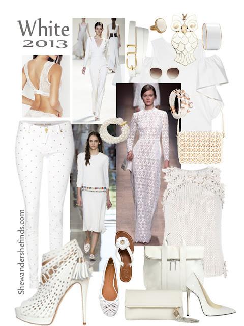 Spring Trend 2013 - White - Shewandersshefinds