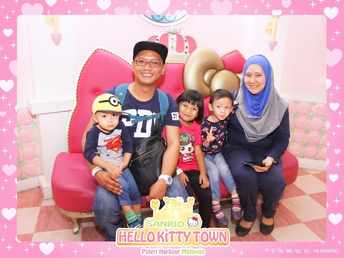 Bercuti di Hello Kitty and Little Big Club Puteri Harbour Johor Bahru