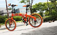 Sepeda Lipat DOPPELGANGER 212 Tangerine 20 Inci