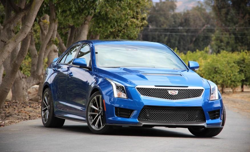 Cadillac ATS-V 2016 là một chiếc sedan thể thao quá tuyệt vời