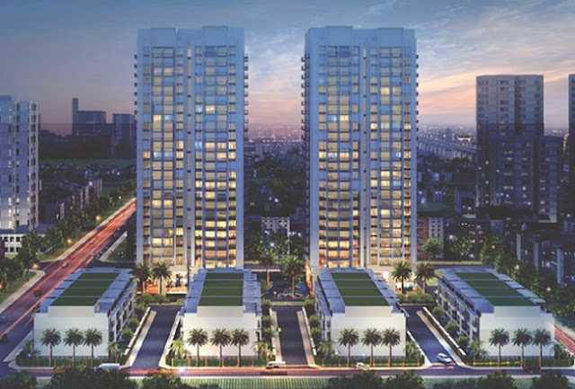 Phối cảnh dự án Thống Nhất Complex 82 Nguyễn Tuân