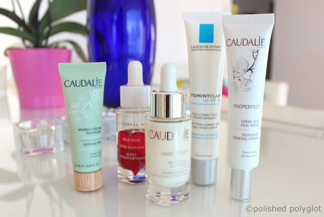 brightening anti dark-spot skincare routine