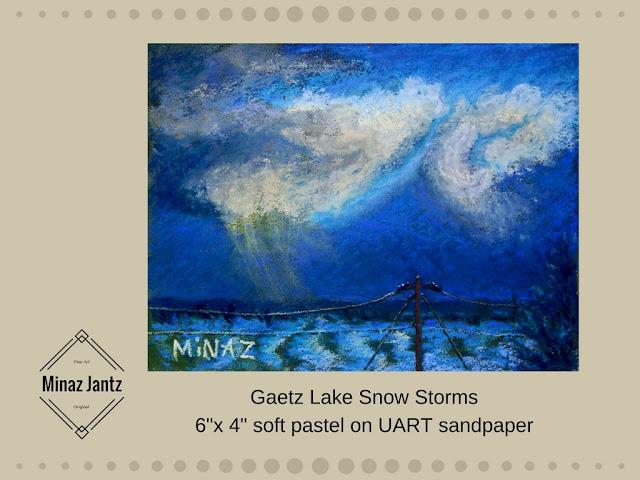 Gaetz Lake Snow Storms by Minaz Jantz