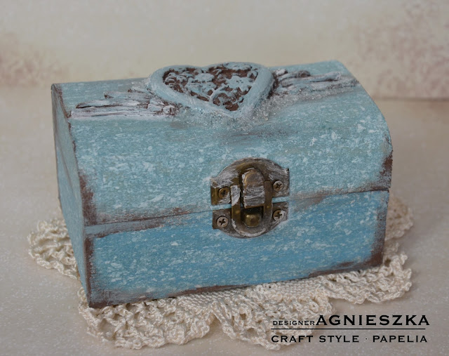 Marmurowa szkatułka