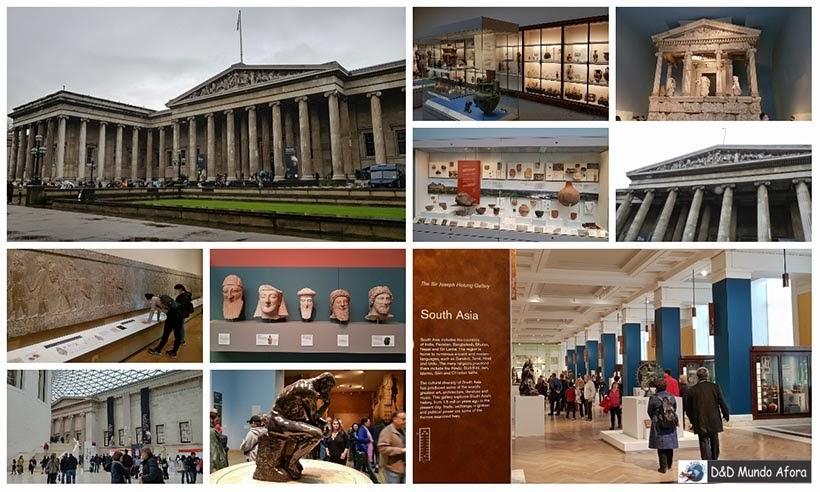 Museu Britânico - Diário de Bordo - 5 dias em Londres