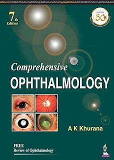 Comprehensive Ophthalmology AK Khurana - 7th Edition pdf free download