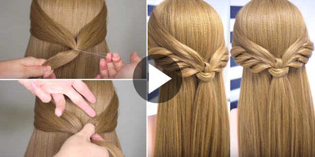 How To Make Angel Wings Hairstyle, See Tutorial