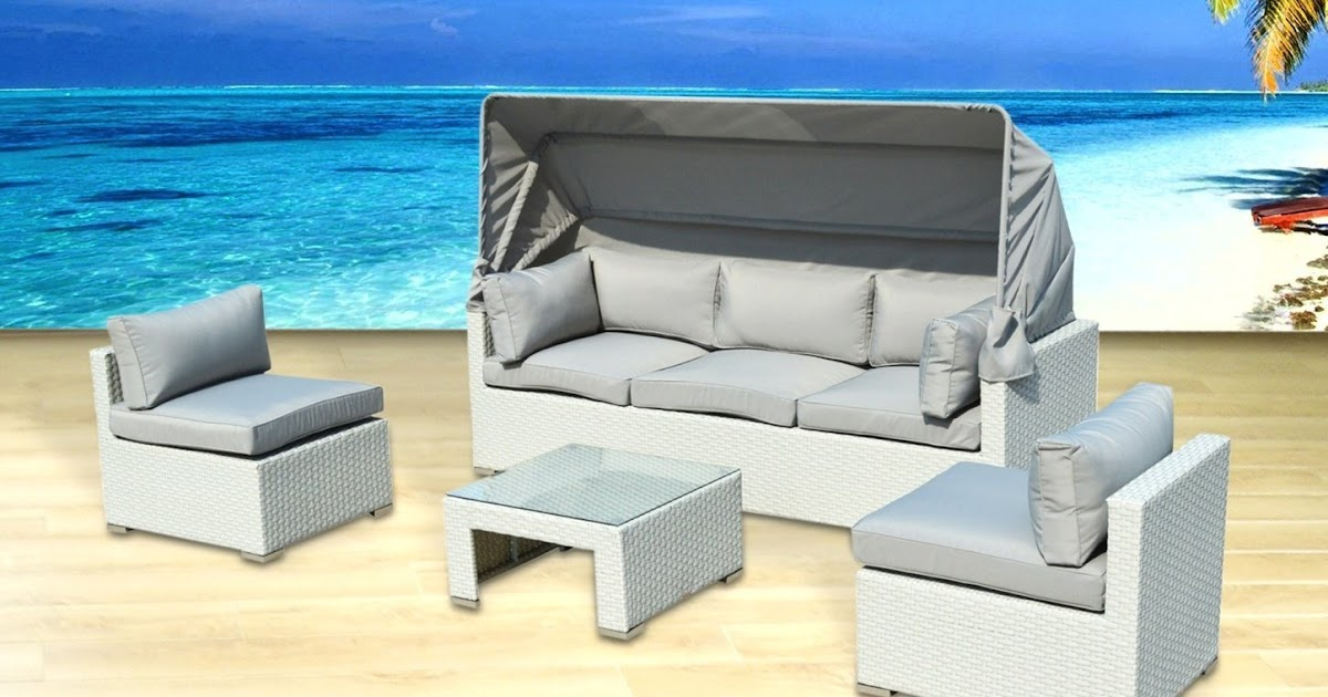 Outdoor patio furniture backyard sofa modern all weather for Outdoor furniture big w