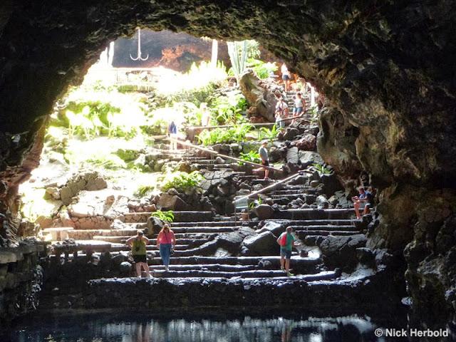 Ausflugsziel - Höhle Jameos del Aqua Lanzarote