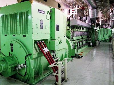 53a68dde47e motor do maior navio cargueiro do mundo
