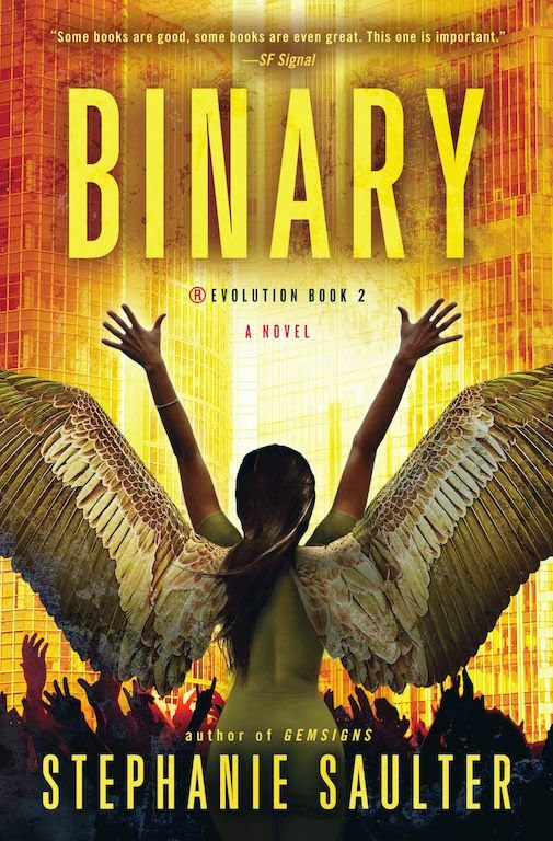 Cover Revealed: Binary by Stephanie Saulter and Excerpt