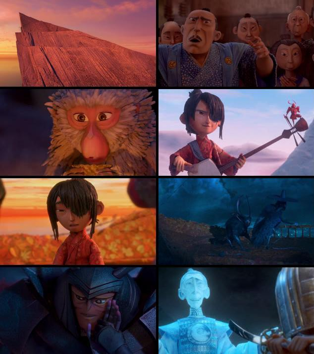 Kubo and the Two Strings 2016 English 720p WEB-DL