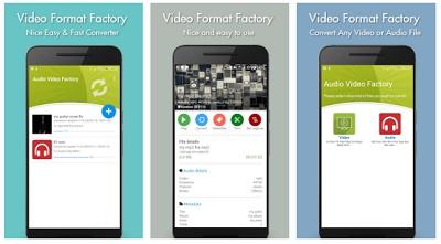 Aplikasi untuk mengubah format video di Android