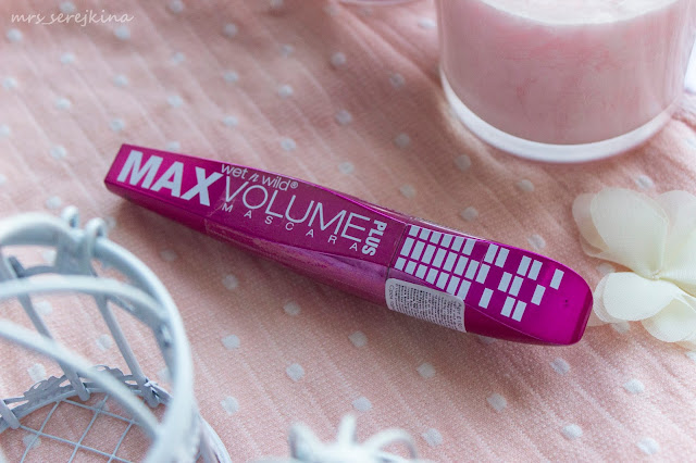 тушь Wet n Wild Max Volume Plus Mascara