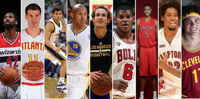 Os brasileiros na NBA