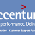 Accenture Bangalore Hiring Any Graduate Freshers as Customer Service Support