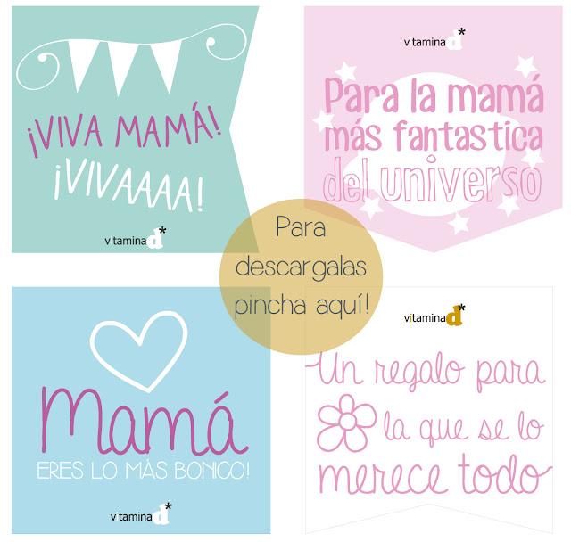 etiquetas para regalos día de la madre